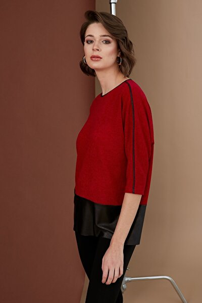 Kadın Kırmızı Bluz 19KBLZ635