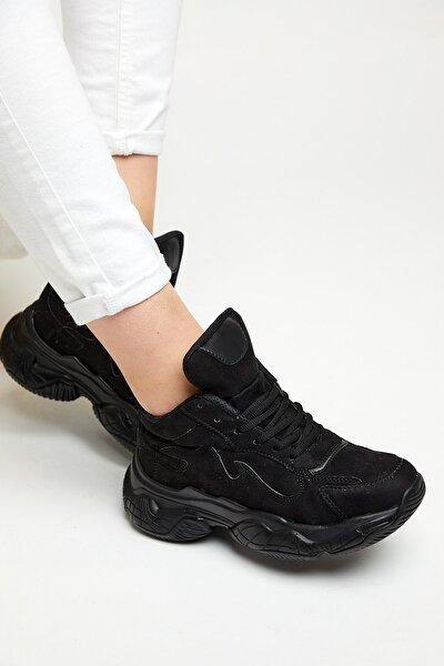 Siyah Kadın Spor Ayakkabı Tb1003