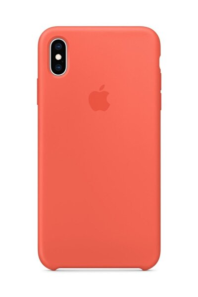 Iphone X Silikon Kılıf Turuncu
