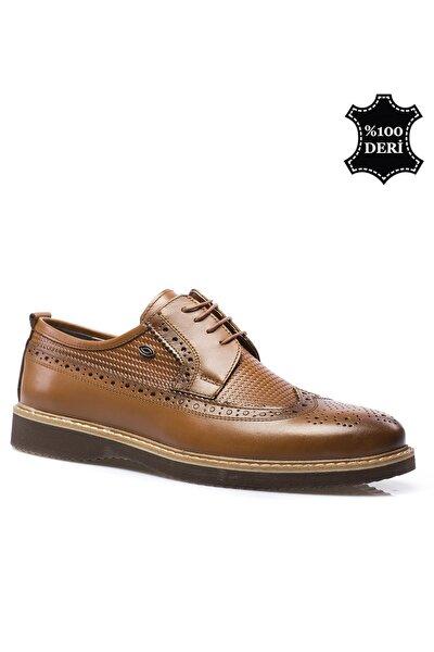 Hakiki Deri Kahverengi Erkek Klasik Ayakkabı PRA-591260-035529