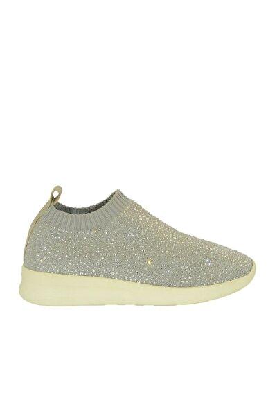 Gri Kadın Yürüyüş Ayakkabısı 52728019