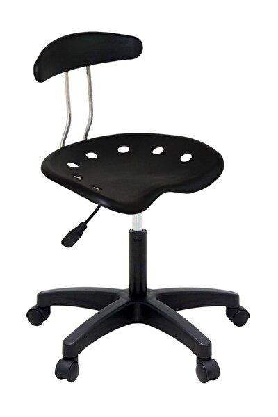 Üreten Burada Nil Sandalye Plastik Ayak Siyah