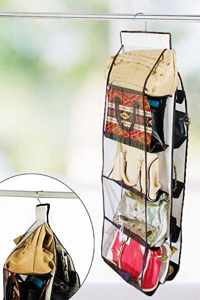 10 Cepli Dolap İçi Çanta Düzenleyici
