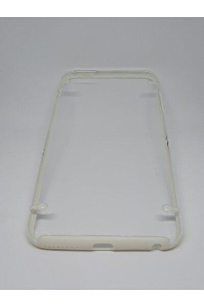 Iphone 6/6s Plus Uyumlu Şeffaf Silikon Kılıf - Kenarlar Renkli - Komple Yumuşak-a Kalite Kılıf