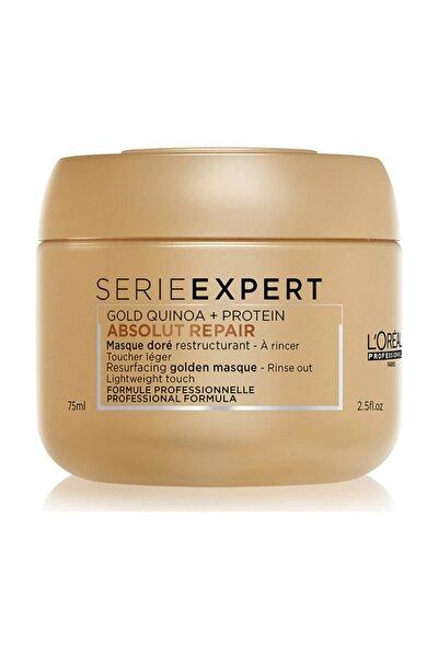 Loreal Serie Expert Absolut Repair Saç Maskesi Gold Quinoa 75 Ml