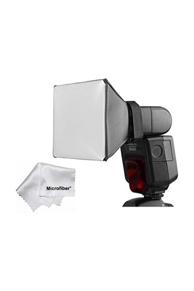 Tepe Kafa Flash Flaş Için Softbox Canon Nikon Yongnuo Pixel Vb.