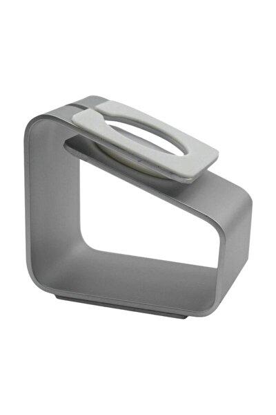 Apple Watch Seri 5 40 Mm Için Alüminyum Şarj Standı - Gümüş