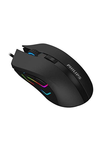 Spk9313 Usb Siyah 800-1200-1600-2400dpi Gaming Mouse 7 Farklı Led Işık