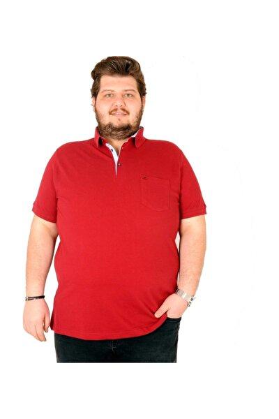T-shirt Polo Yaka Cepli Klasik Pike 18552 Bordo