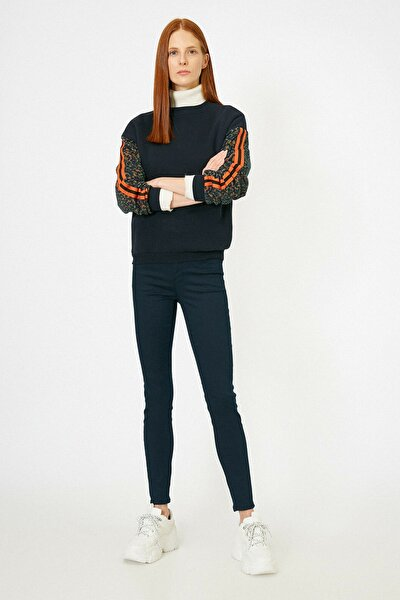 Kadın Lacivert Pantolon 0YAK43558MW