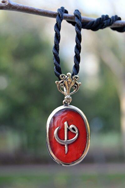 Jewellery Elif Ve Vav Figürlü Bayan Kolye