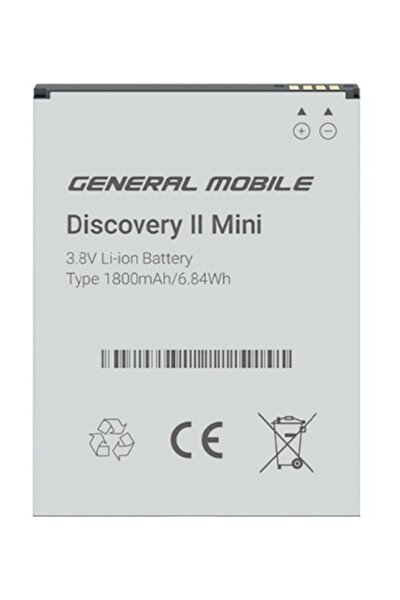 Discovery 2 Mini Batarya Pil %100 Orjinal