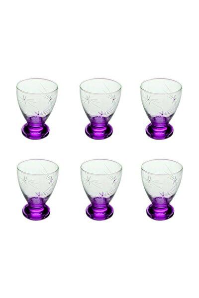 41011 Çın Çın 12 Adet ( Mor Ateş  Böceği) Su-meşrubat Bardağı
