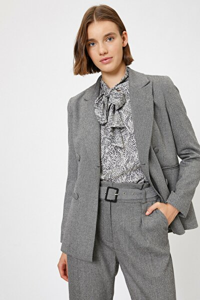 Kadın Gri Ceket 0KAK52245UW