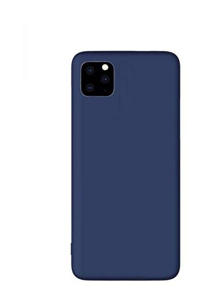 Iphone 11 Pro Premium Matte Silikon Kılıf - Lacivert
