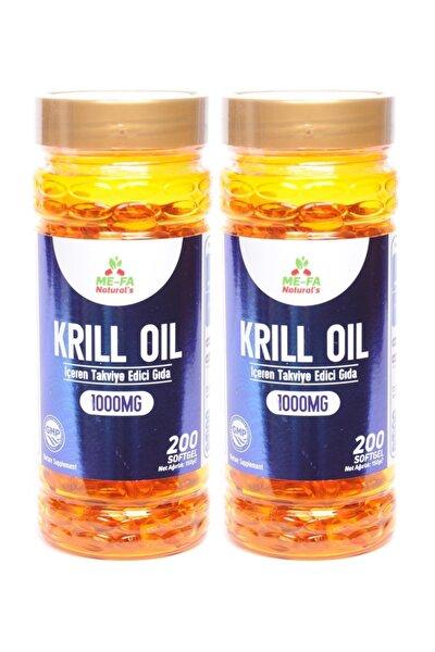 Krill Oil 1000 mg 2 Kutu 400 Softgel