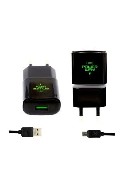 X181 5v 2000 Mah Şarj Cihazı + Micro Usb Kablo