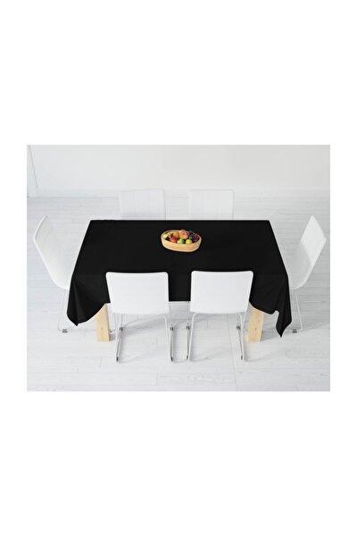 Siyah Masa Örtüsü 100x140 cm.