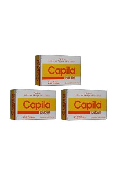 Kükürtlü Sabun Sarı Kutu 90 gr x 3 Adet