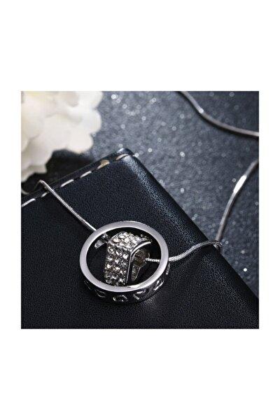 Gümüş Yüzük & Kalp Kadın Kolye