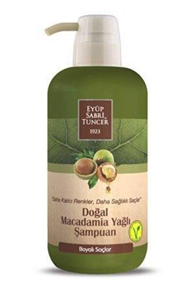 Doğal Macadamia Yağlı Şampuan 600 ml Pet Şişe