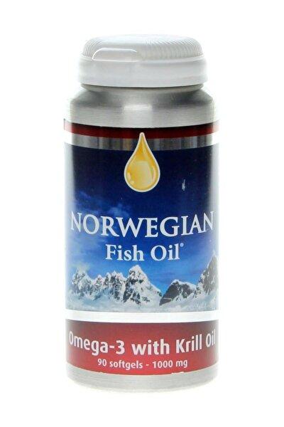 Fish Oil Omega 3 & Krill Oil (yüksek Konsantre Krill Yağı) (90 Softjel)