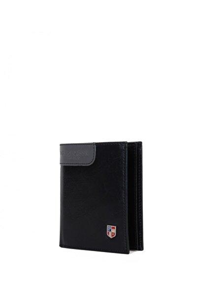 Siyah Erkek Us Polo Assn Marka Logolu Erkek Cüzdanı Plcuz7616