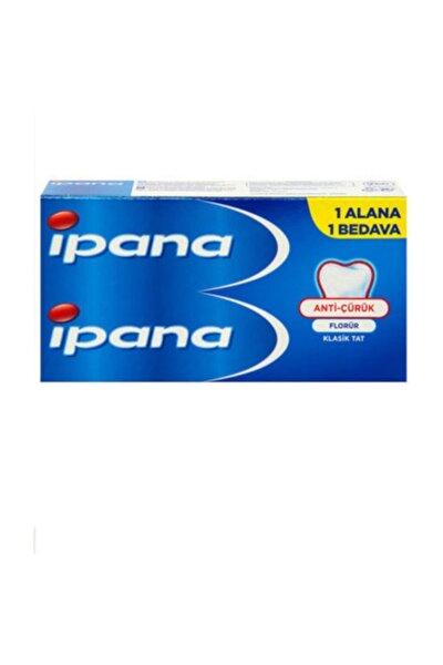 Anti çürük florürlü diş macunu 2x65 ml.