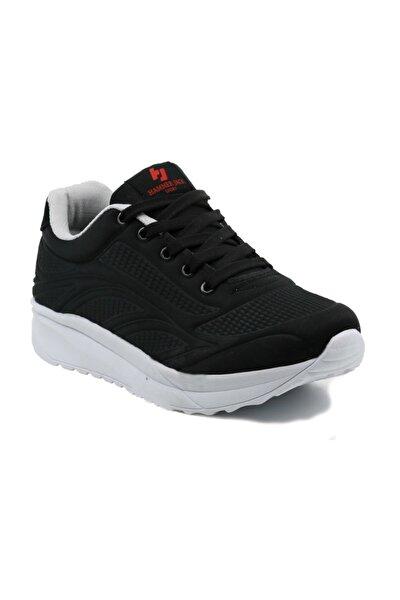 HammerJack Kadın Spor Ayakkabı 545 8000-Z Siyah-Beyaz 20S048000