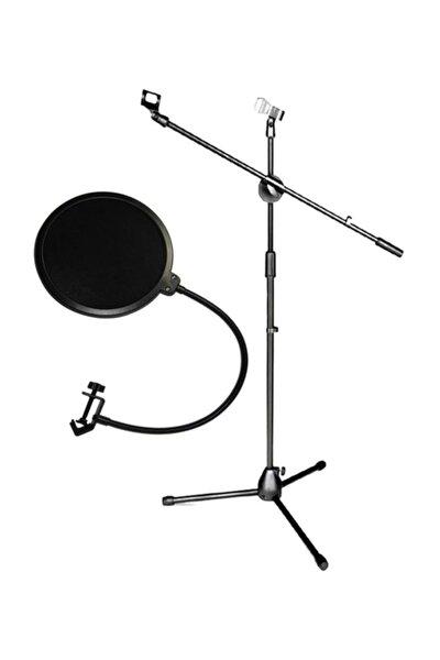Ms06 Mikrofon Standı + Propops Pop Filtre