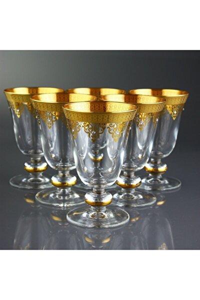 6'lı Ayaklı Bardak - Ottoman Altın