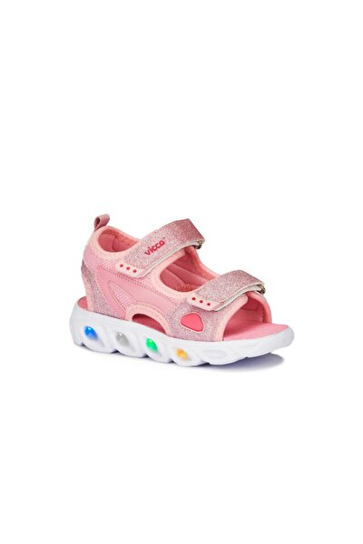 Kız Bebek Pembe Sandalet