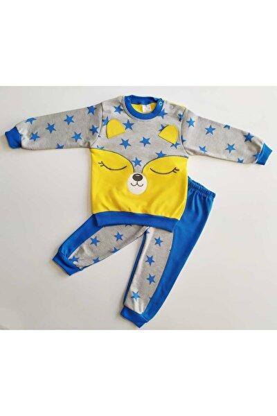 Erkek Bebek Yıldızlı Mevsimlik 2'li Takım