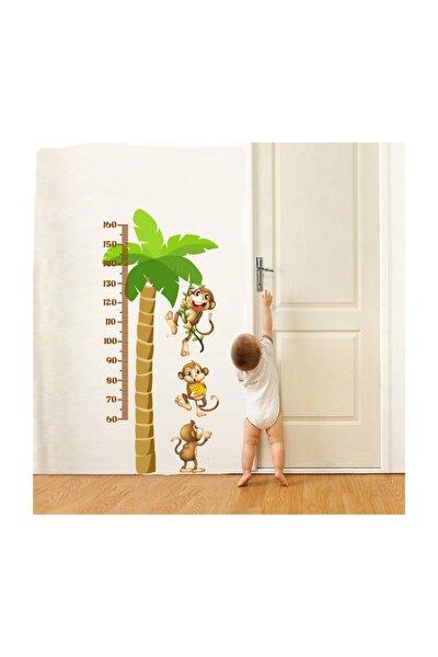Çocuk & Bebek Odası Için Boy Cetveli Duvar Sticker