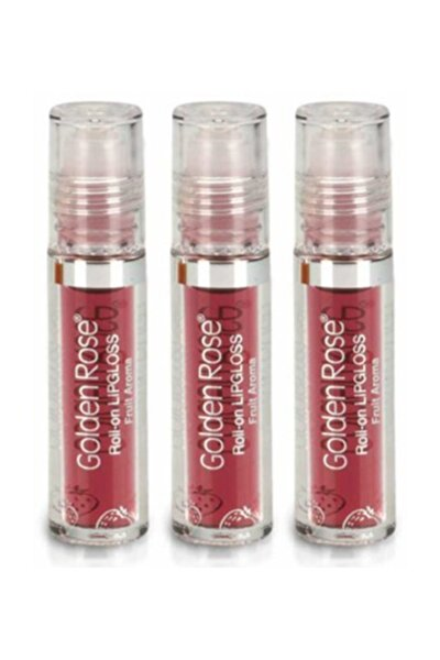 Meyveli Dudak Parlatıcısı-roll On Lipgloss Çilek x 3
