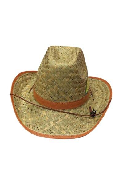 Erkek Hasır Fötr Şapka 38/32 cm