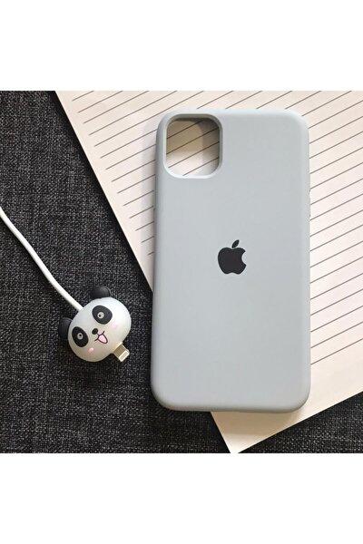 Iphone 11 Logolu Lansman Kılıf+kablo Koruyucu