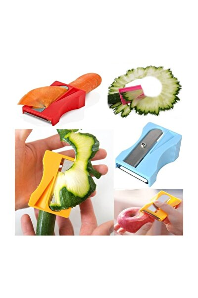 Kalemtraş Havuç Soyacağı Meyve Sebze Soyacağı Asorti Renk