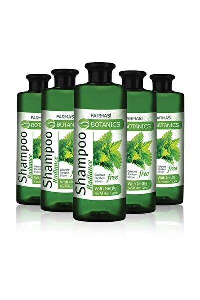 Botanics Isırgan Özlü Parlaklık Veren Şampuan-500 ml 5 Adet