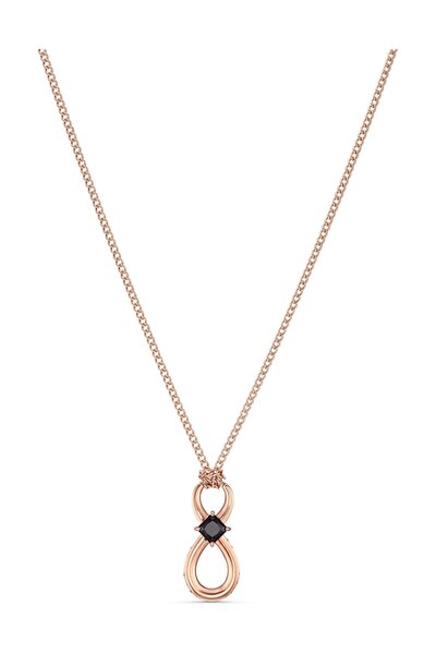 Kolye Swa Infinity-pendant Jet-cblk-ros 5533722