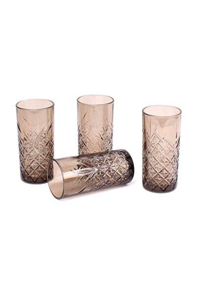 Timeless Meşrubat Bardağı, Sade, 450 Ml, 4 Parça