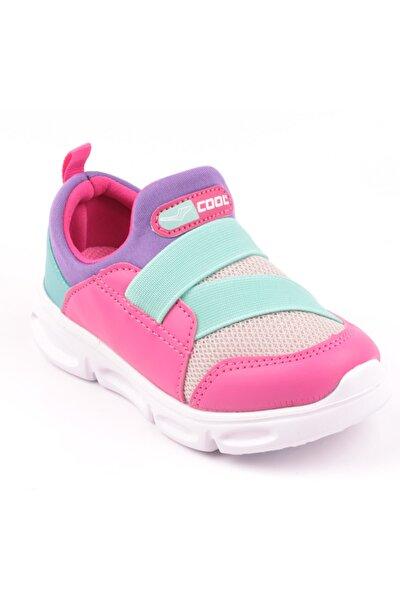 Kız Çocuk Pembe Antibakteriyel Ortopedik Yürüyüş Ayakkabısı