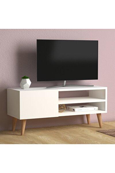 Porto Tv Sehpası Beyaz