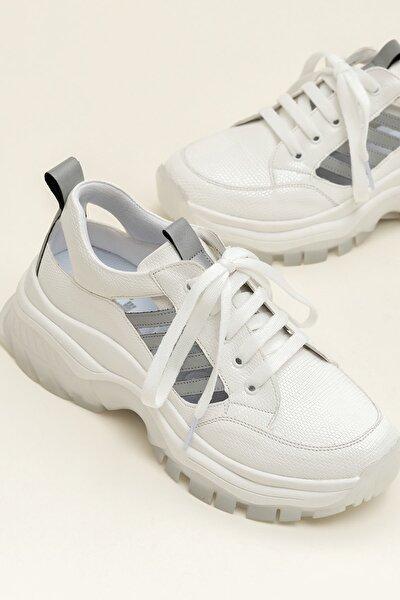 REKHA-1 Beyaz Kombin Kadın Ayakkabı