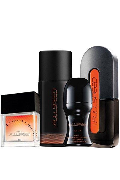 Full Speed 4 'lü Erkek Parfüm Seti