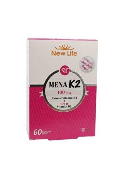 Mena K2 + D3 60 Kapsül