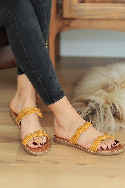 Hardal Kadın Sandalet A2074-20