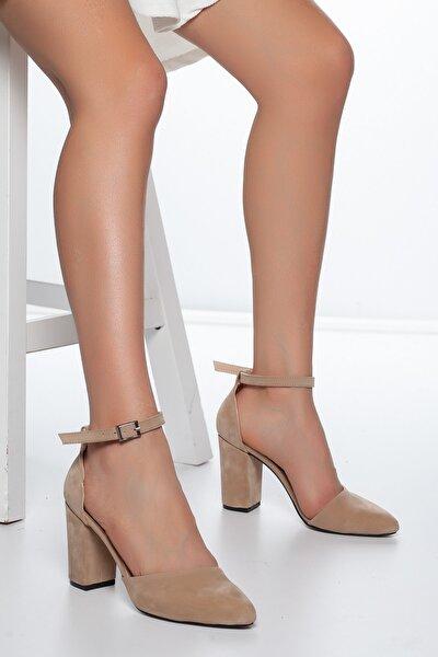Pudra-Süet Kadın Ayakkabı DXTRSKRNYRKY002