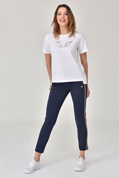 Beyaz Kadın T-Shirt GS-8623