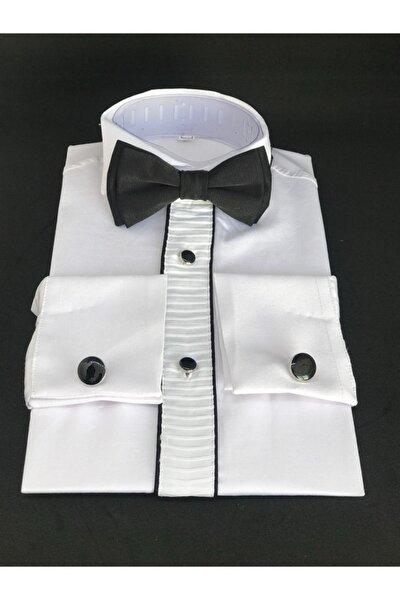 Kol Düğmeli Gömlek